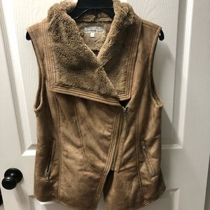 Tasha Polizzi Collection Brown Vest